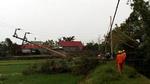 EVN khắc phục hậu quả cơn bão số 2