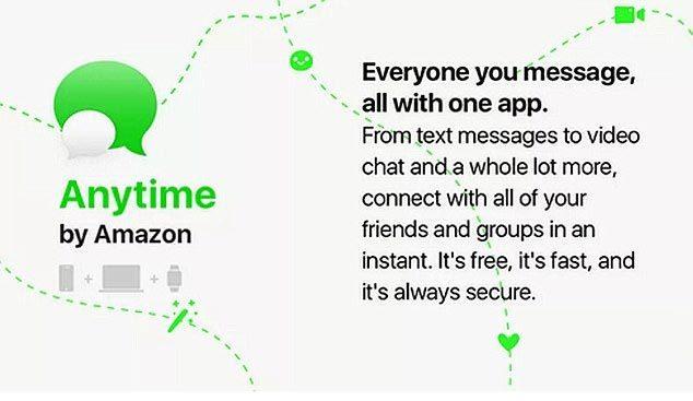 Amazon phát triển ứng dụng nhắn tin cạnh tranh với Facebook, Instagram