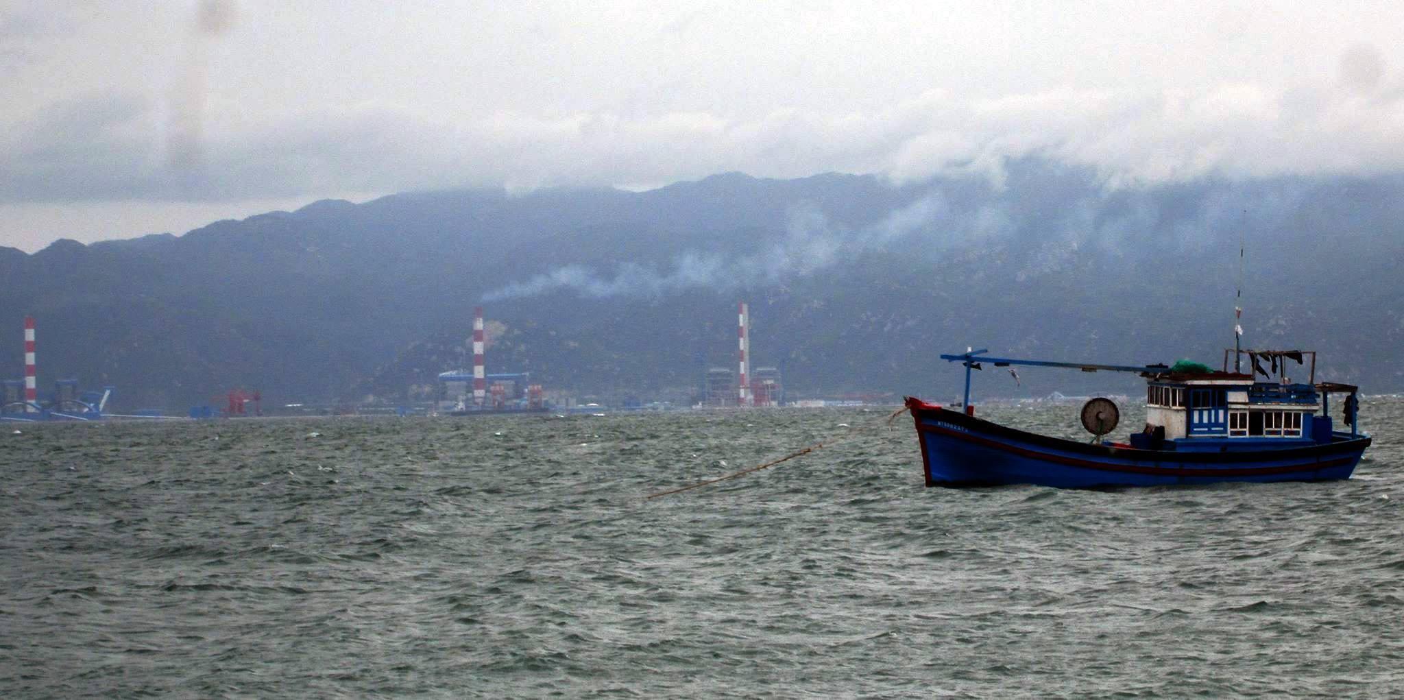 Bình Thuận,Đinh Trung,xả thải,ô nhiễm môi trường,ô nhiễm môi trường biển