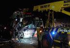 3 xe giường nằm đâm nhau, ít nhất 3 người chết