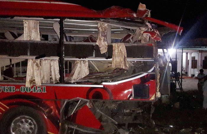 tai nạn giao thông, tai nạn chết người, Bình Thuận, xe giường nằm,tai nạn ô tô