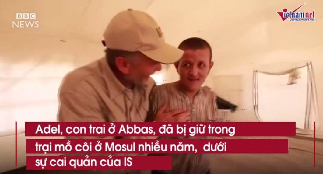 Nỗi đau đớn của những em bé bị IS bắt cóc làm 'lá chắn'
