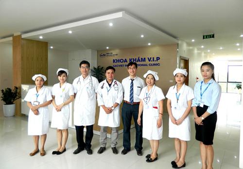Hữu nghị Lạc Việt: bệnh viện kiểu mẫu ở Vĩnh Phúc