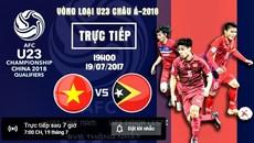 Link xem trực tiếp U22 Việt Nam vs U22 Đông Timor