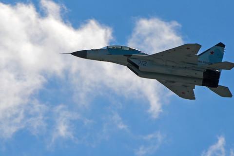 MiG-35 mới tinh của Nga trình làng ấn tượng tại MAKS 2017