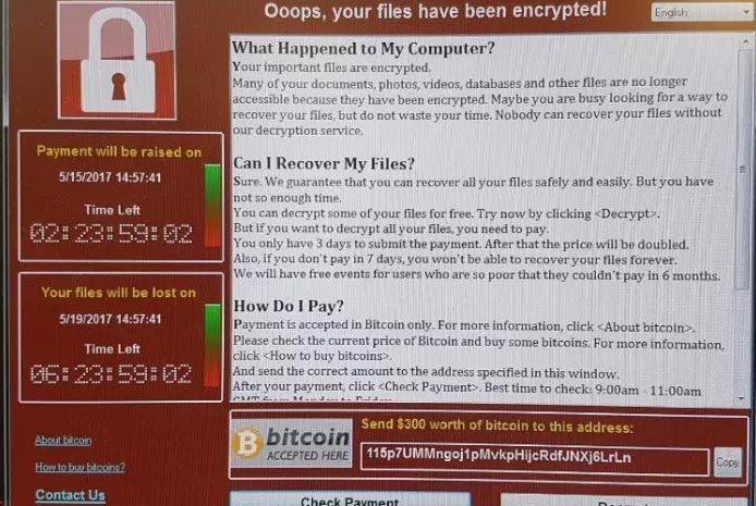 tấn công mạng, virus Wanna Cry, mã độc tống tiền, mã độc, hacker, malware