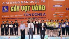 Nguyễn Đức Tuân đoạt HCĐ giải Cây vợt vàng 2017