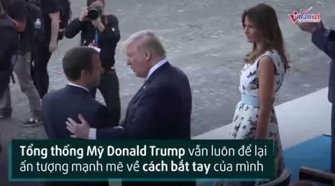 Tra cứu 'từ điển' bắt tay kiểu Tổng thống Trump