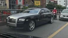 Rolls-Royce Ghost Series II 25 tỷ 'chết đứng' tại Hà Nội