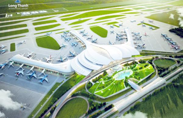Nhà ga sân bay Long Thành được thiết kế hình hoa sen
