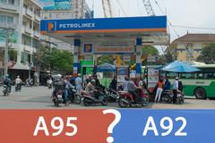 Đổ lẫn xăng A92 và A95 có ảnh hưởng gì?