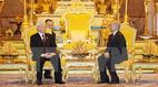 Tổng bí thư hội đàm với Quốc vương Campuchia