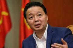 Bộ trưởng TN&MT: Chưa giao biển để Nhiệt điện Vĩnh Tân thực hiện nhận chìm