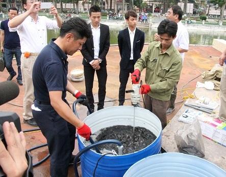 Hải Phòng xử lý thành công ô nhiễm nước hồ Hạnh Phúc