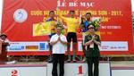 Nguyễn Cường Khang giành Áo vàng Cuộc đua xe đạp Về Trường Sơn