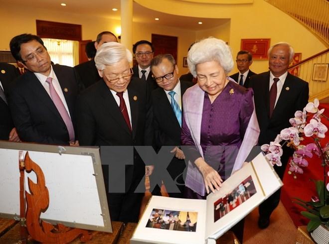 Tổng bí thư Nguyễn Phú Trọng, Nguyễn Phú Trọng, Tổng bí thư thăm Campuchia, Campuchia, Thủ tướng Hun Sen