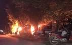 Giữ người, đốt ô tô Fortuner vì nghi bắt cóc trẻ em