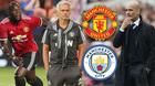 Trực tiếp MU vs Man City: Rực lửa derby Manchester