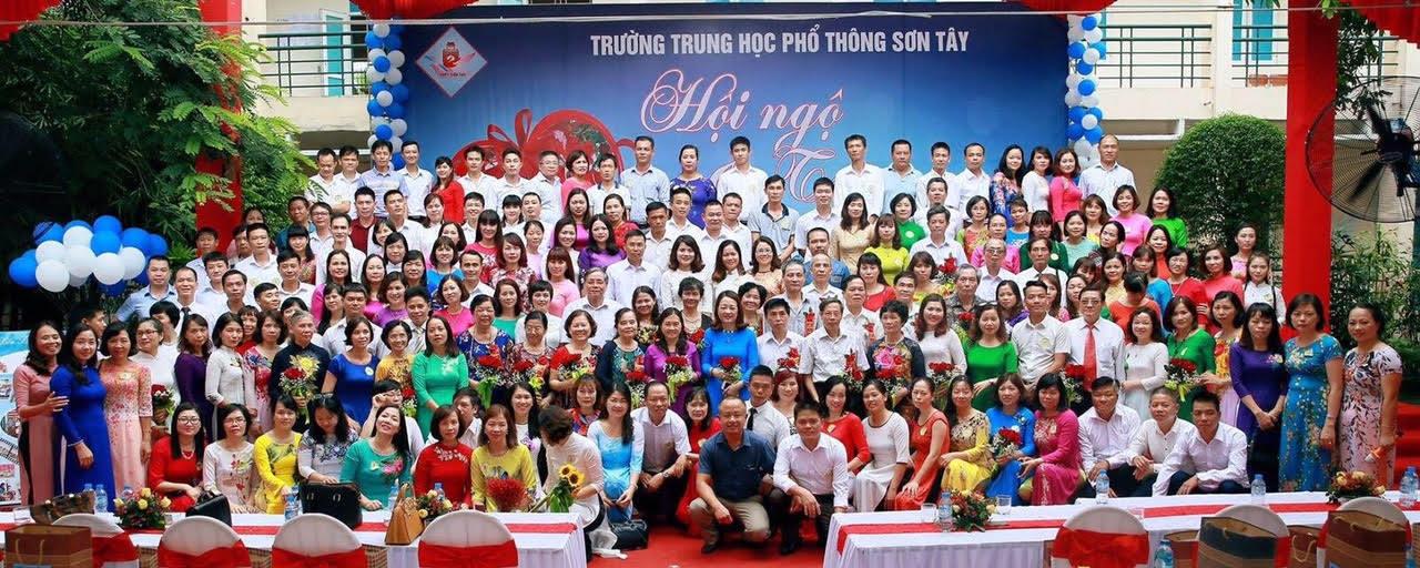 Nét văn hóa đẹp của học sinh Trường THPT Sơn Tây
