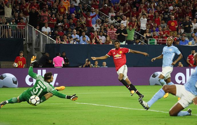 Video bàn thắng MU 2-0 Man City