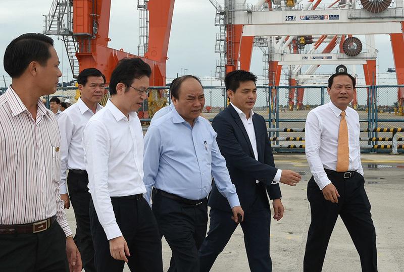 Thủ tướng Nguyễn Xuân Phúc,Nguyễn Xuân Phúc,cảng Cái Mép
