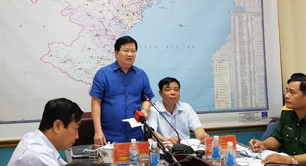 xả lũ,thủy điện Hòa Bình,thủy điện,mưa lũ,Bộ trưởng Nông nghiệp,Nguyễn Xuân Cường