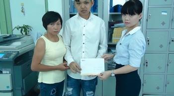 Hơn 12 triệu đồng đến với mẹ con chị Lương