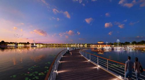 Vì sao biệt thự bên hồ Vinhomes Riverside-The Harmony 'sốt nóng'?