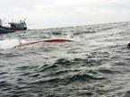 Tàu cá Bình Thuận chìm, 2 thuyền viên mất tích