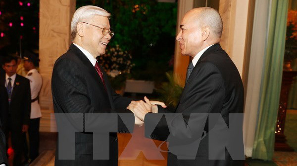 Tuyên bố chung về tăng cường quan hệ hợp tác Việt Nam - Campuchia