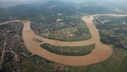 Nước sông Hồng tại Hà Nội đang lên nhanh