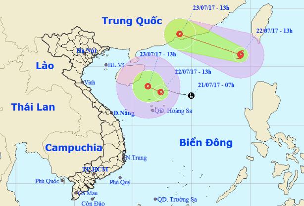 Dự báo thời tiết, áp thấp, áp thấp nhiệt đới, bão số 3, cơn bão số 3