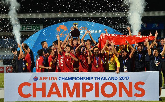 U15 Việt Nam, U15 Thái Lan, U15 ĐNA 2017, kết quả bóng đá U15