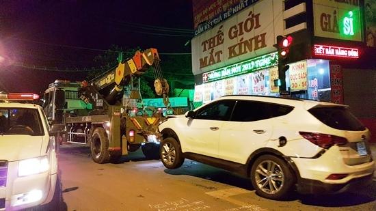 Hiện trường vụ tông xe kinh hoàng ở Sài Gòn