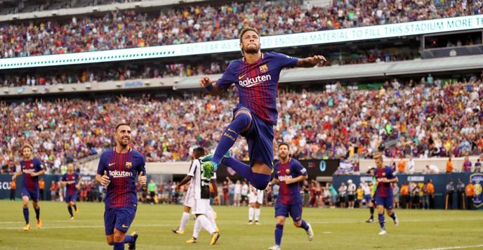 Neymar 'nổ' vang trời, Barca hạ gục Juventus