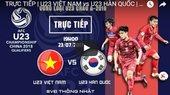 Link xem trực tiếp U22 Việt Nam vs U22 Hàn Quốc