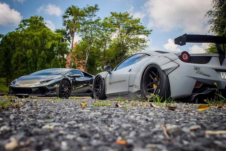 Bộ đôi siêu xe Ferrari và Lamborghini chục tỷ, 'khủng' nhất Việt Nam