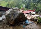 Mẹ con bị đá đè: Đá tảng từng lăn ầm ầm sát nhà