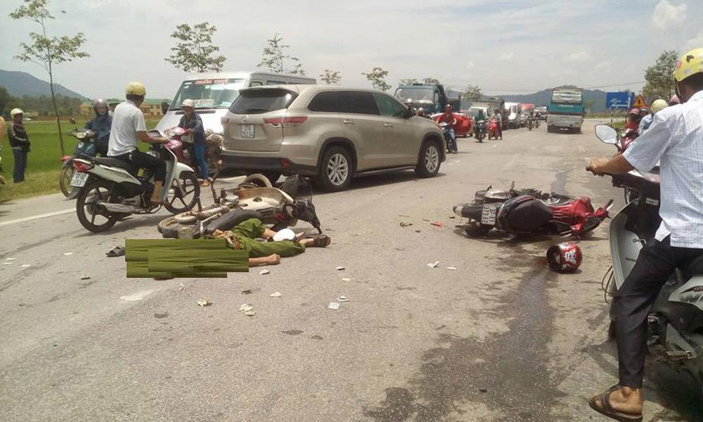 tai nạn giao thông, tai nạn, công an tử vong