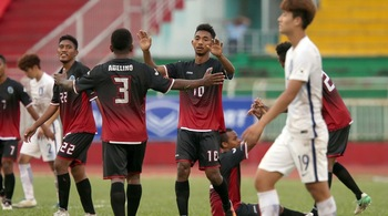 Chơi thiếu người, U22 Đông Timor vẫn thắng Macau 7-1