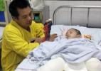 BV Việt Đức: Bé cụt chân do đá đè diễn biến bệnh phức tạp