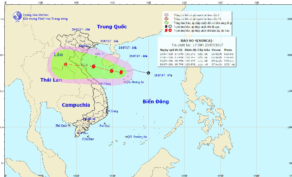 Dự báo thời tiết, áp thấp nhiệt đới, tin bão mới nhất, cơn bão số 4, bão số 4, tin bão mới nhất, tin bão, bão Sonca