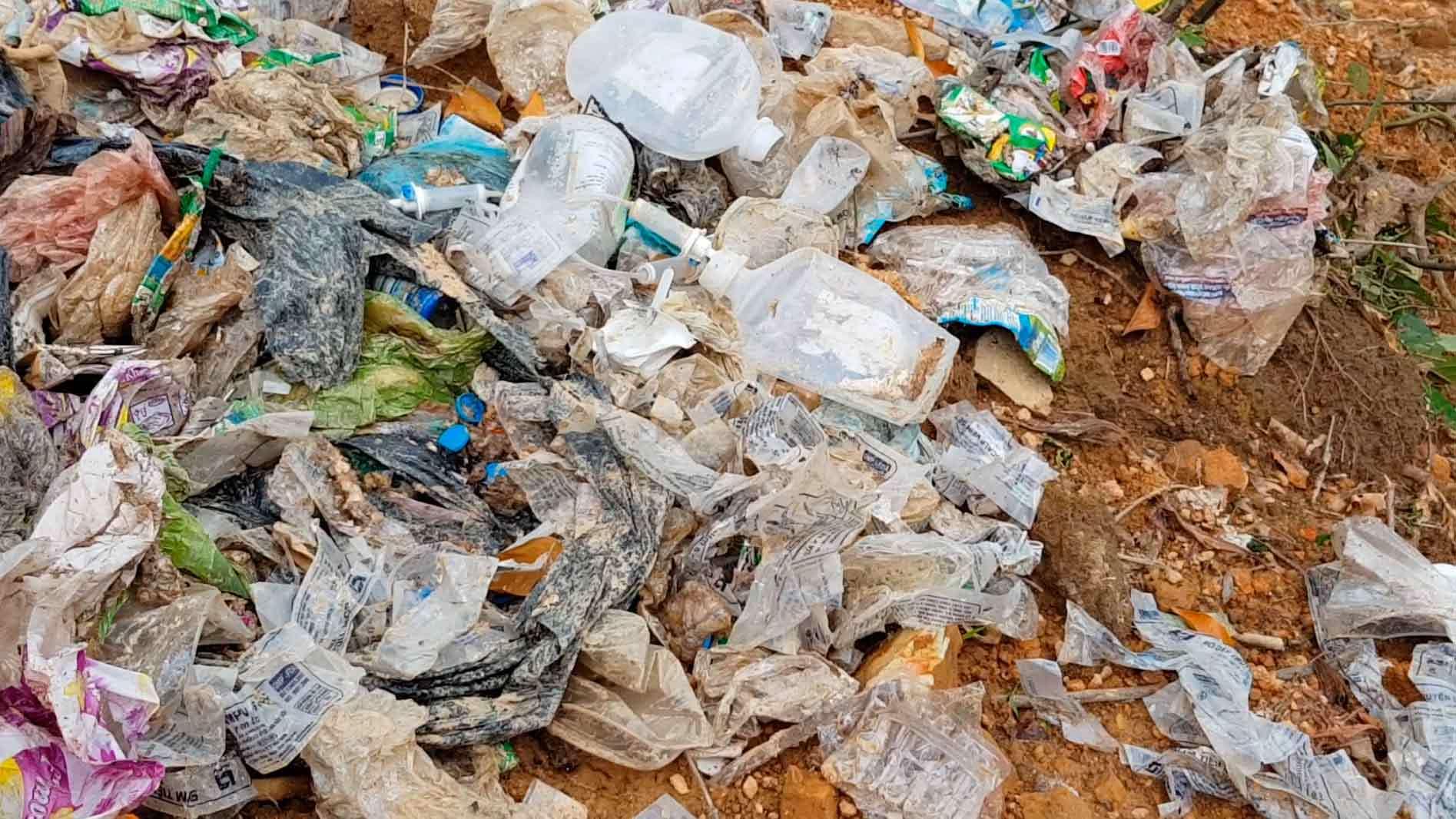 rác thải y tế, rác thải, Hà Tĩnh, ô nhiễm môi trường