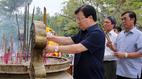 Phó Thủ tướng dâng hương tưởng nhớ các anh hùng, liệt sĩ tại Quảng Trị