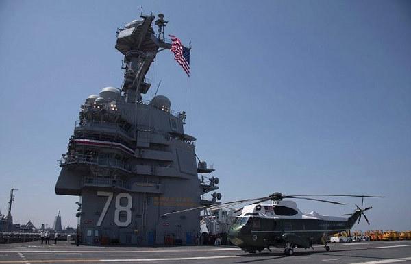 Hình ảnh tàu sân bay Mỹ hàng chục năm không cần tiếp liệu