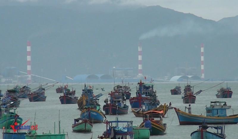 Bình Thuận, Nhận chìm bùn thải, Vĩnh Tân 1, Ô nhiễm môi trường, xả thải ra biển
