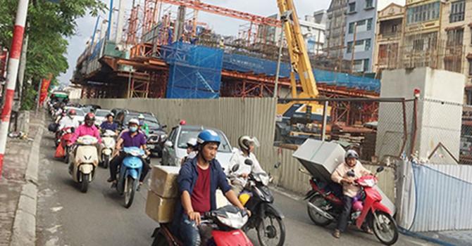 đường sắt đô thị Nhổn - ga Hà Nội, đường sắt trên cao Cát Linh - Hà Đông, an toàn giao thông, hạ tầng giao thông