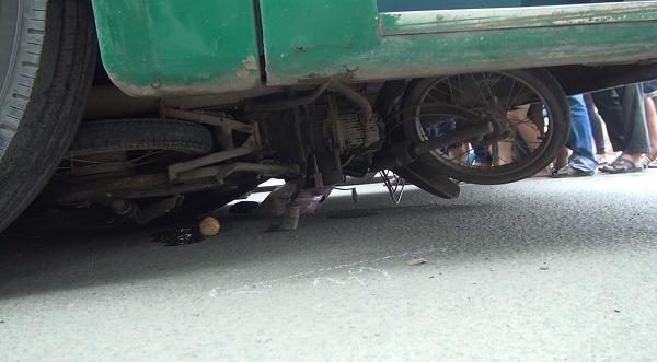 tai nạn xe buýt, xe buýt cán người, tai nạn giao thông
