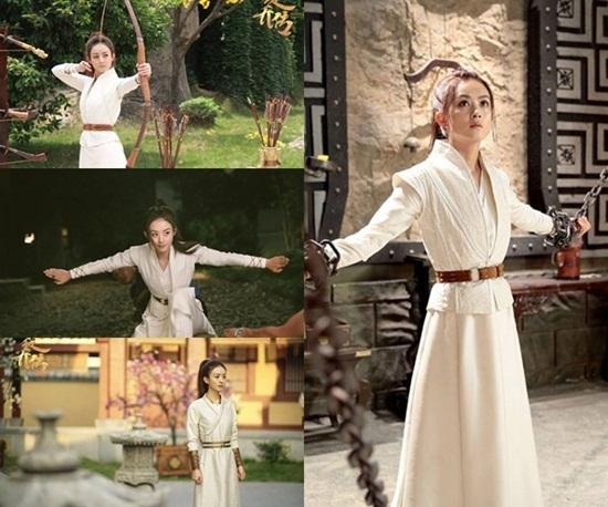 Váy áo đẹp ngất ngây của mỹ nhân 'Sở Kiều truyện'