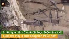 Bí ẩn những cỗ quan tài hàng nghìn tuổi cheo leo vách núi